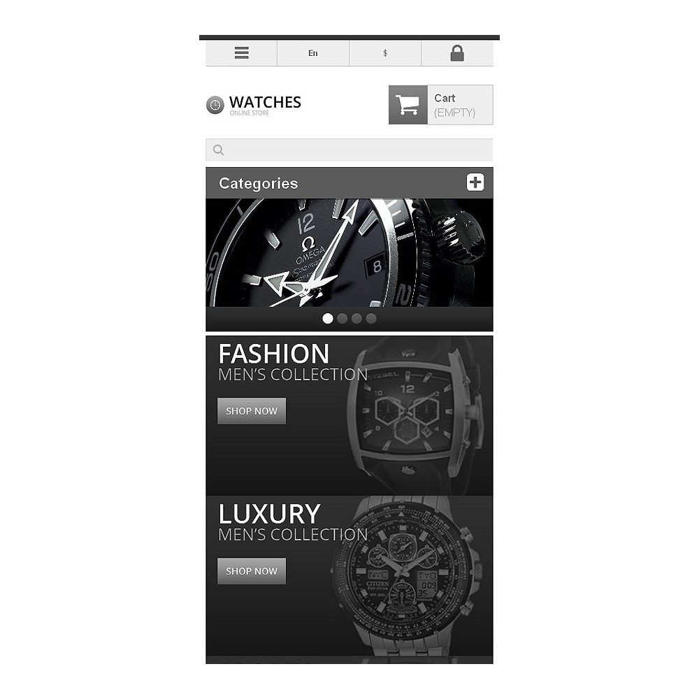 theme - Mode & Chaussures - Responsive Watch Store - 9