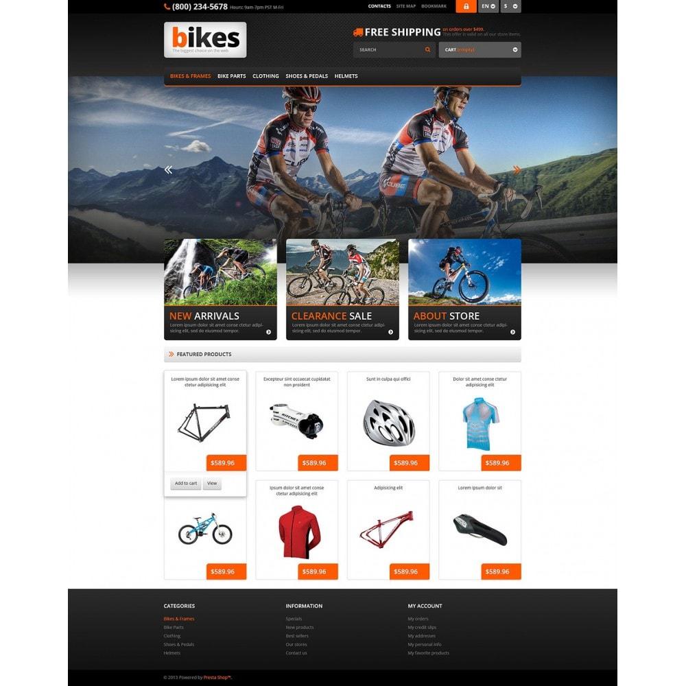 theme - Sport, Aktivitäten & Reise - Responsive Bikes Store - 2