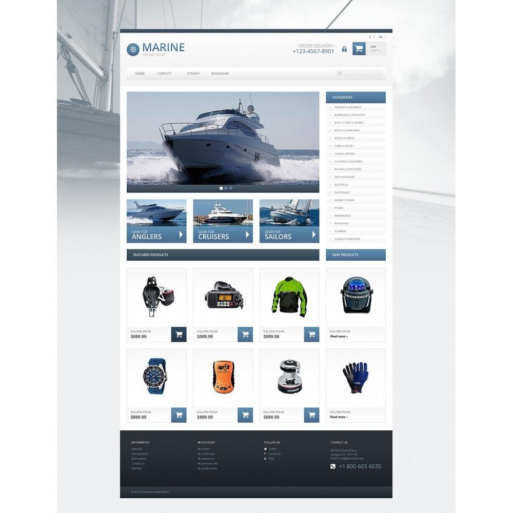 theme - Спорт и Путешествия - Responsive Marine Store - 2