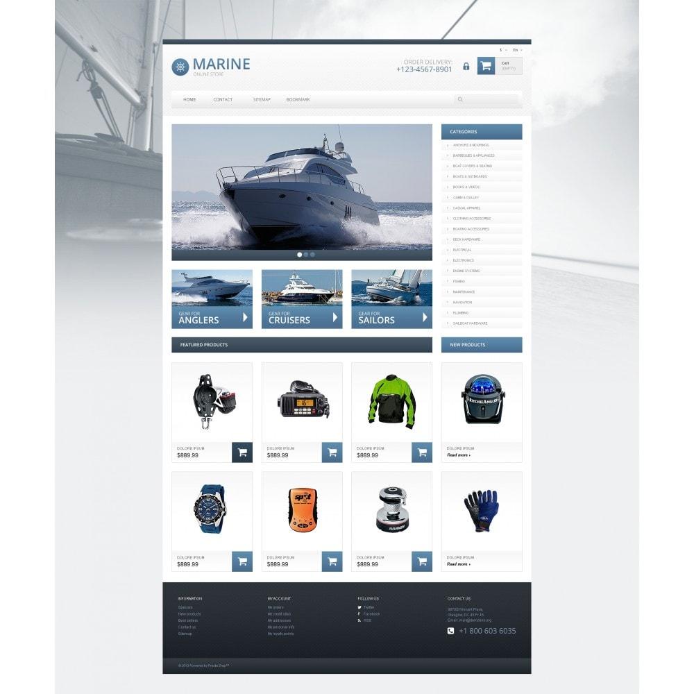 theme - Спорт и Путешествия - Responsive Marine Store - 4