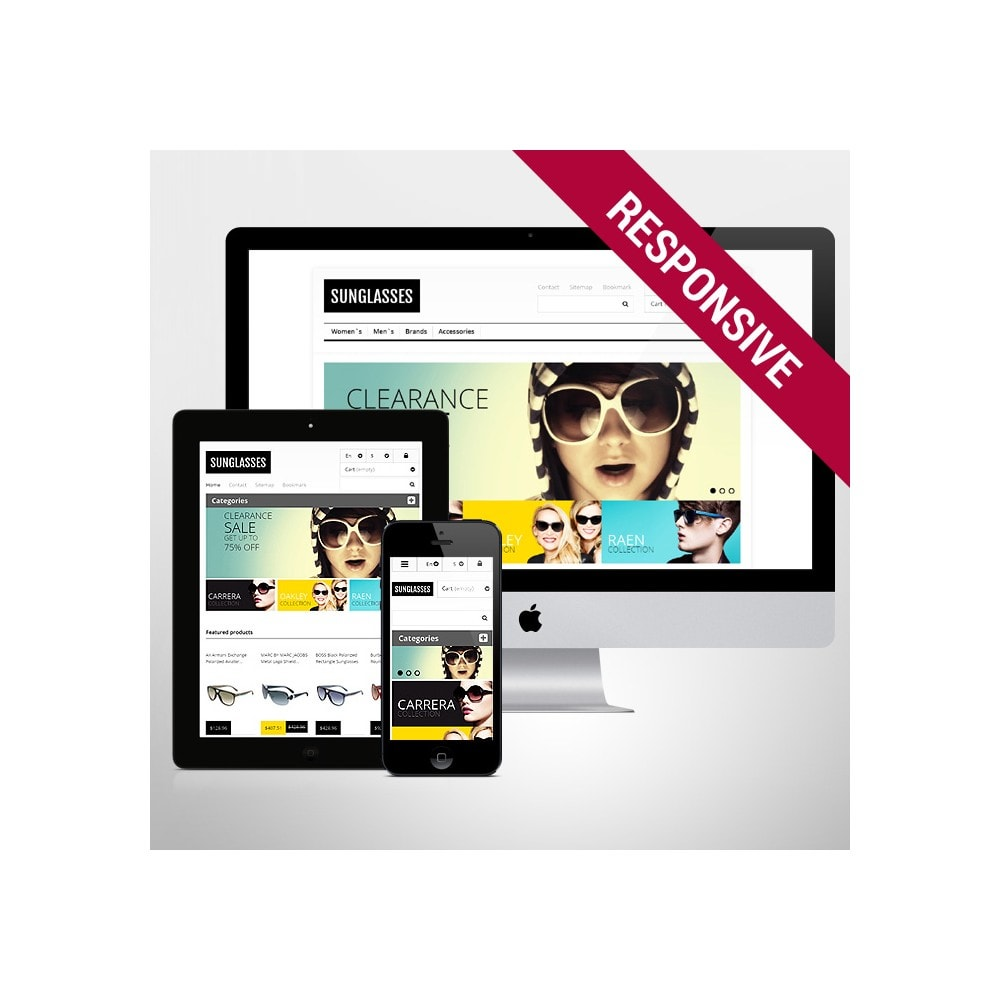 theme - Mode & Chaussures - Responsive Sunglasses Store - 1