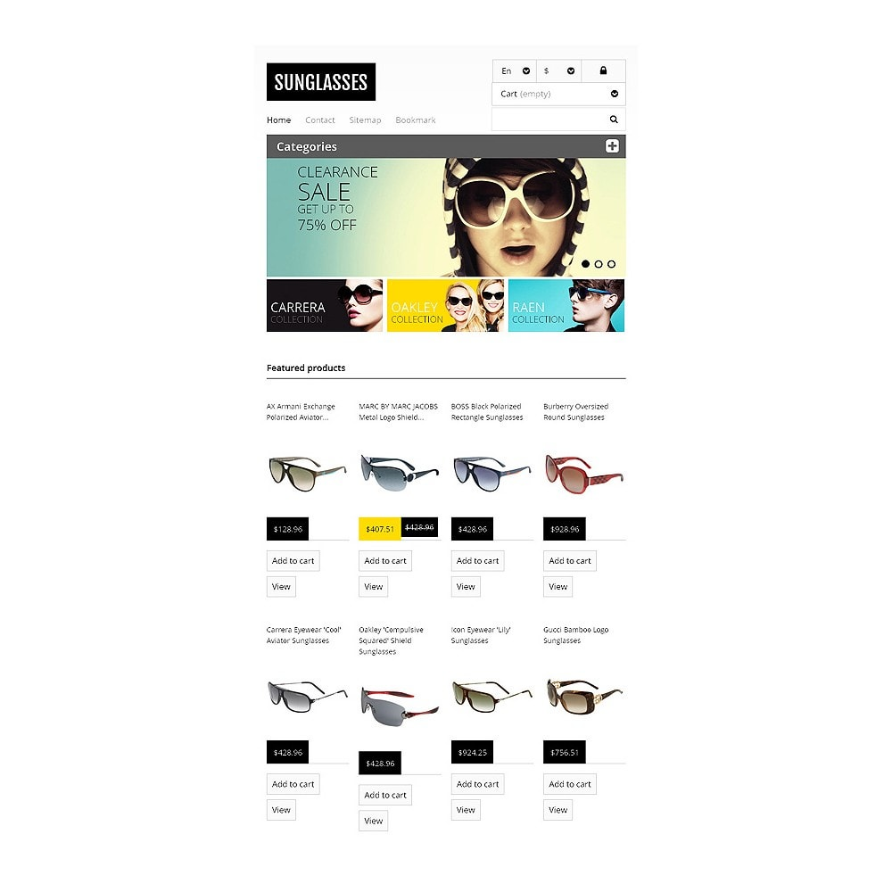 theme - Mode & Chaussures - Responsive Sunglasses Store - 7