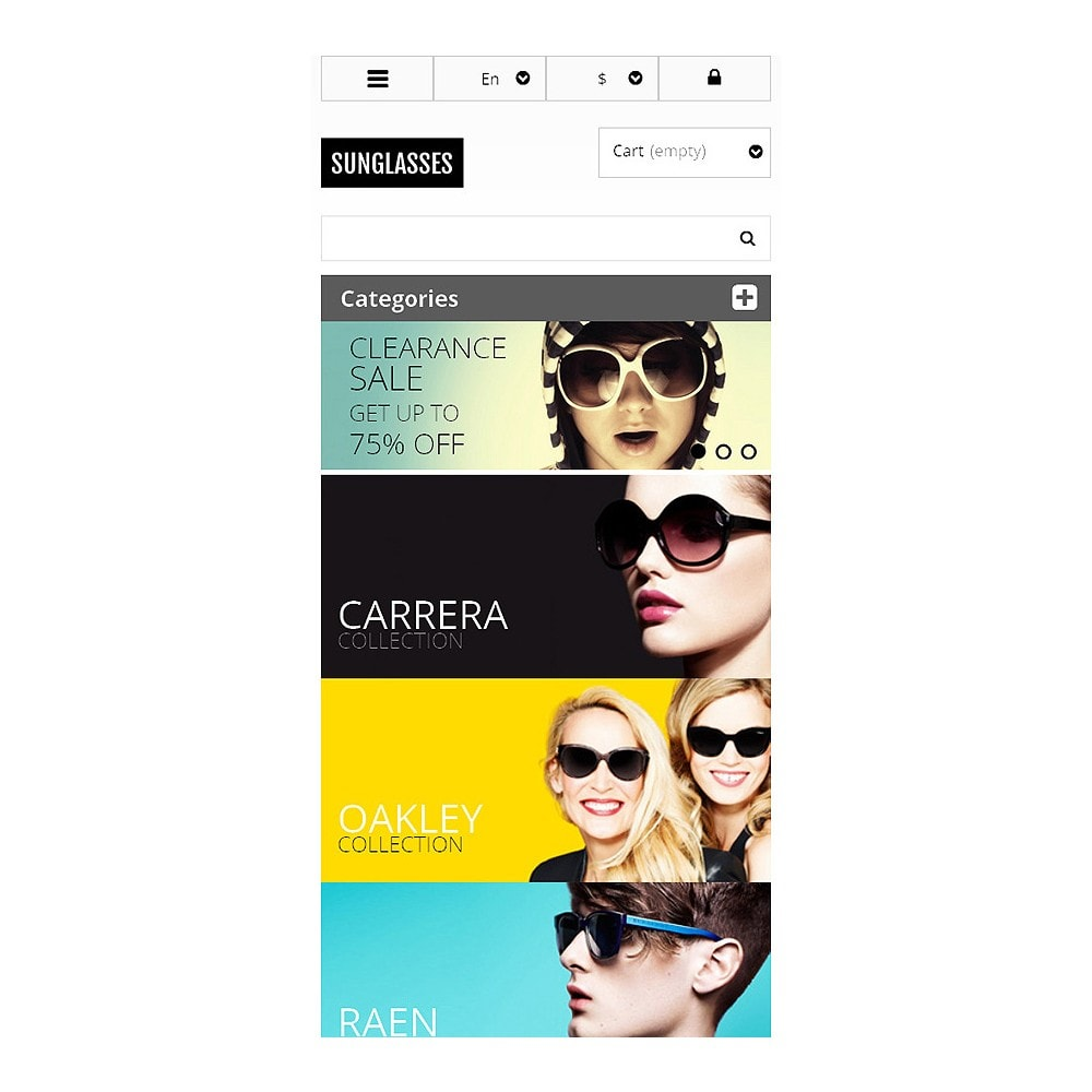 theme - Mode & Chaussures - Responsive Sunglasses Store - 8