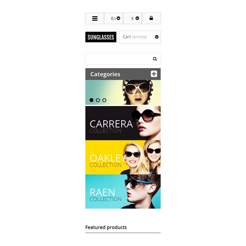 theme - Mode & Chaussures - Responsive Sunglasses Store - 9