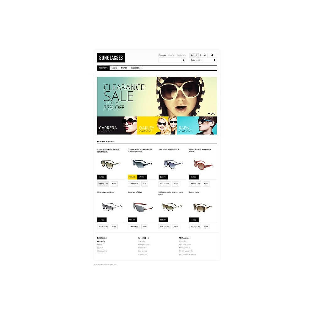 theme - Mode & Chaussures - Responsive Sunglasses Store - 10