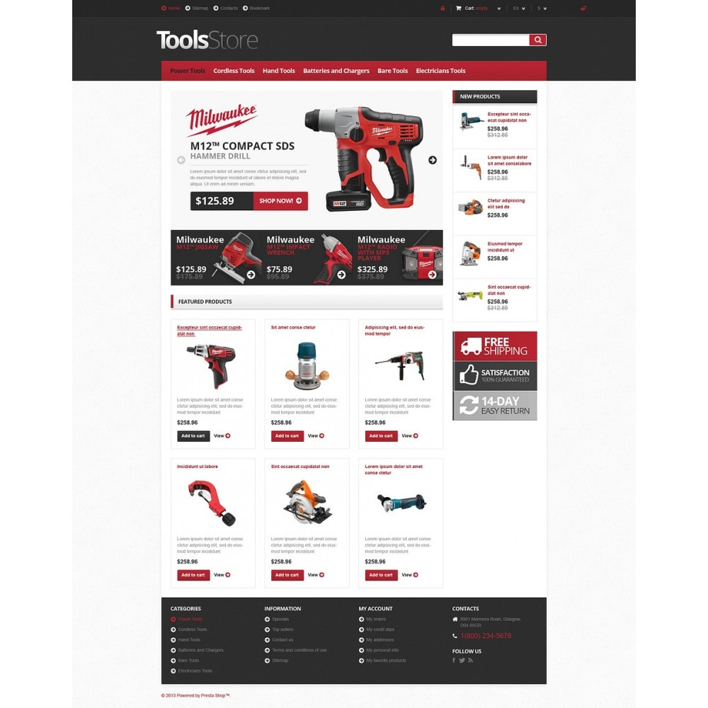 theme - Dom & Ogród - Responsive Tools Store - 2