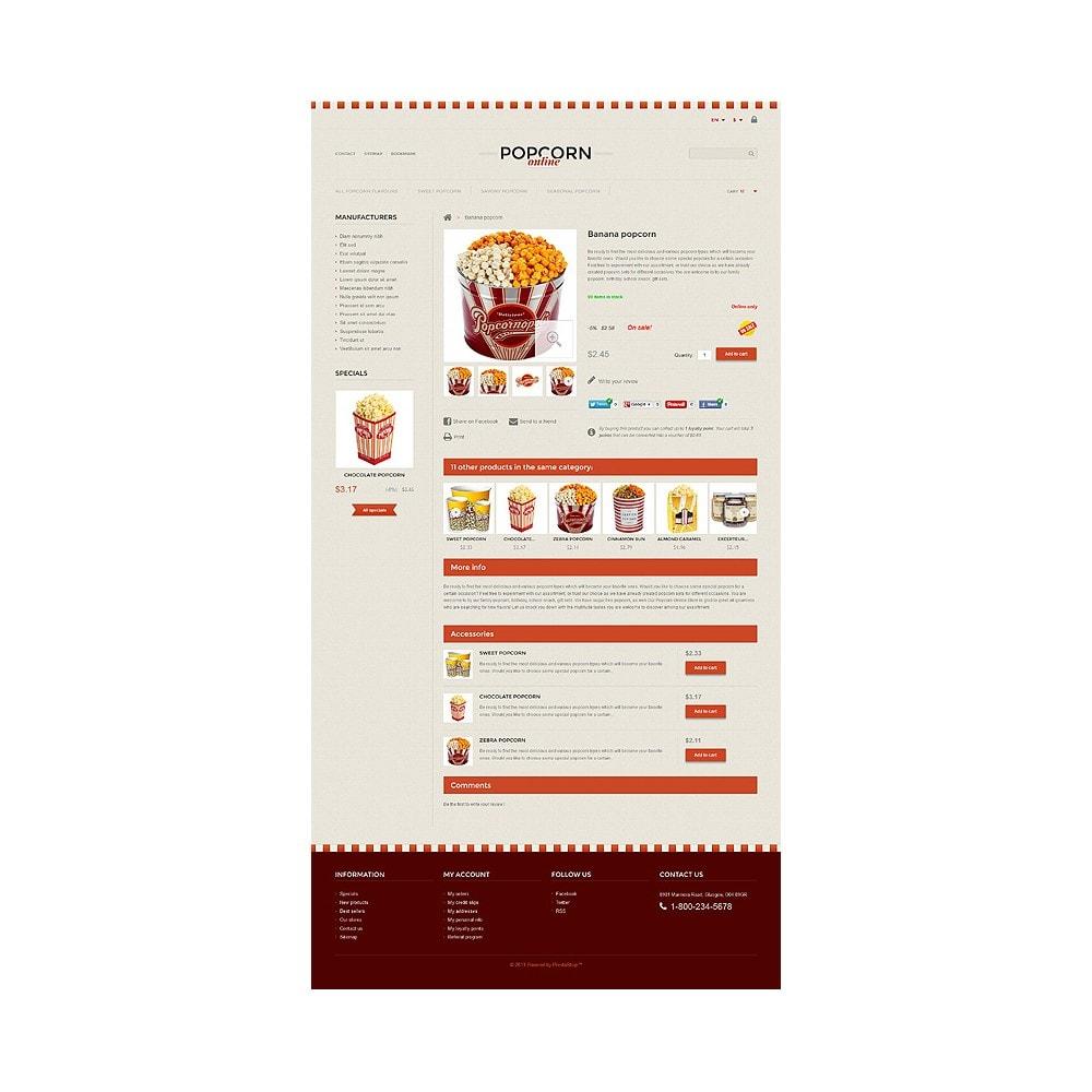 theme - Alimentos & Restaurantes - Responsive Popcorn Store - 6