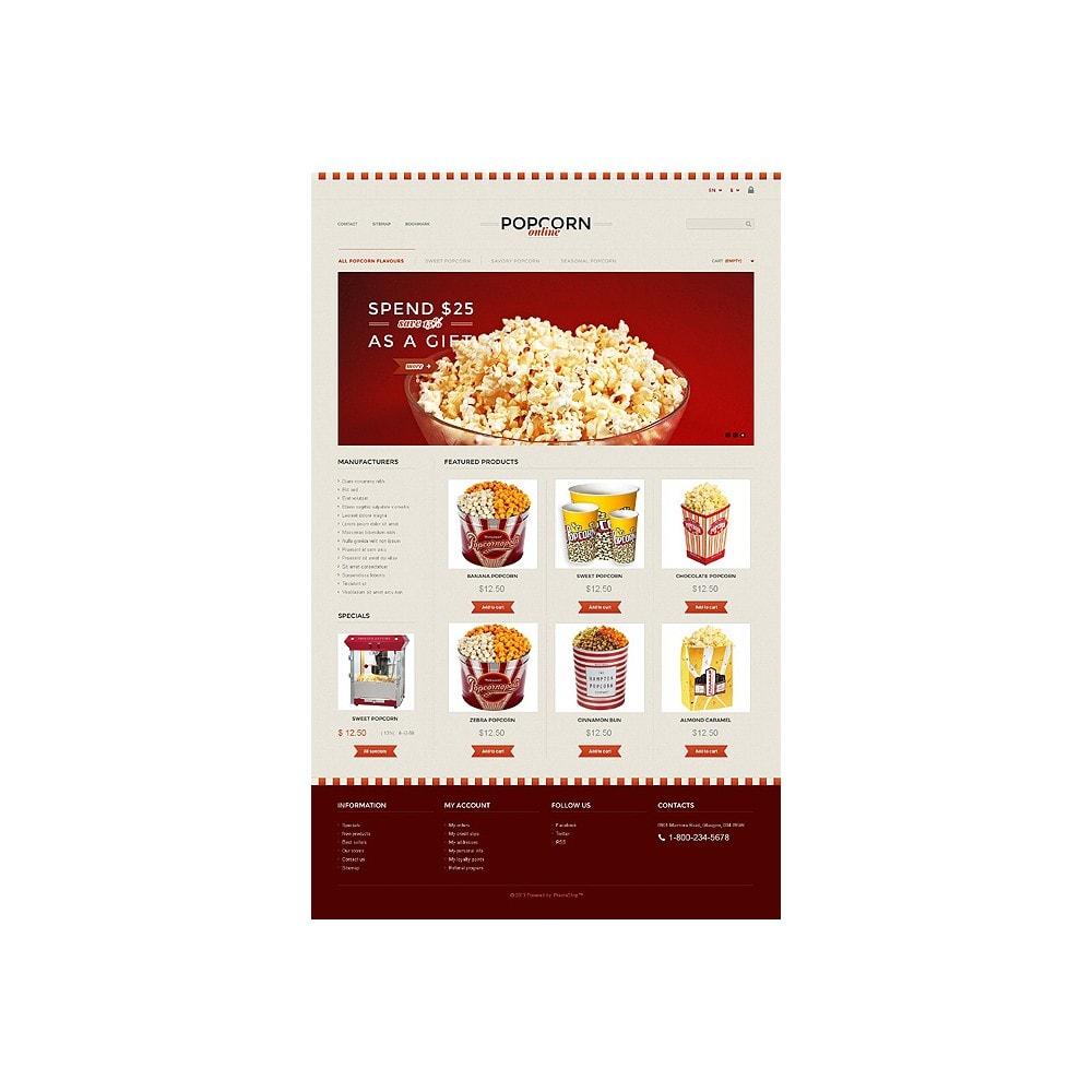 theme - Lebensmittel & Restaurants - Responsive Popcorn Store - 10