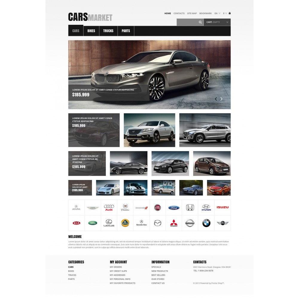 theme - Coches y Motos - Cars and Parts - 2
