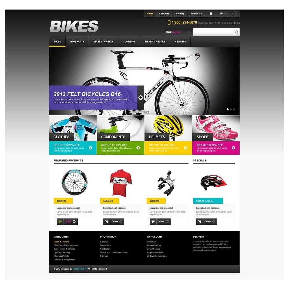 theme - Sport, Rozrywka & Podróże - Responsive Bikes Store - 2