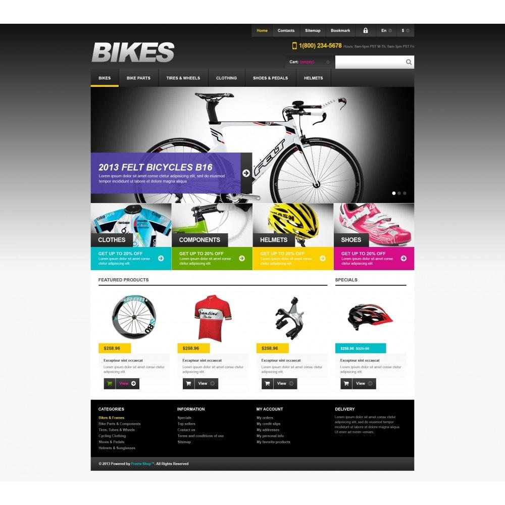theme - Sport, Rozrywka & Podróże - Responsive Bikes Store - 4