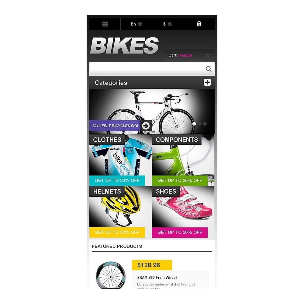 theme - Sport, Rozrywka & Podróże - Responsive Bikes Store - 8