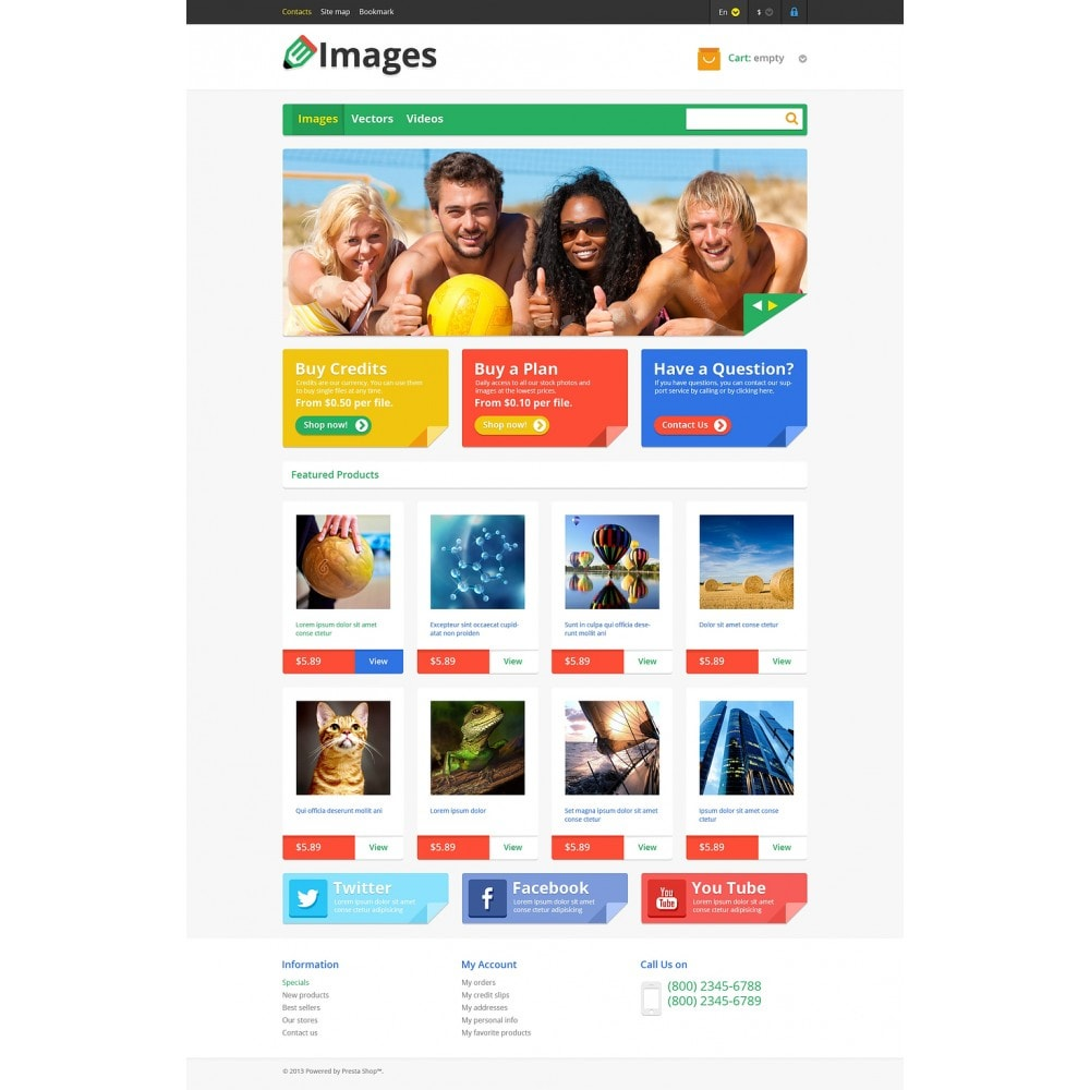 theme - Kunst & Cultuur - Responsive Images Store - 2