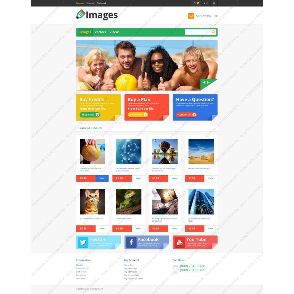 theme - Kunst & Cultuur - Responsive Images Store - 5