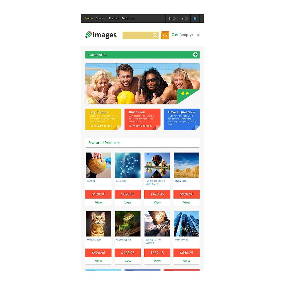 theme - Kunst & Cultuur - Responsive Images Store - 7