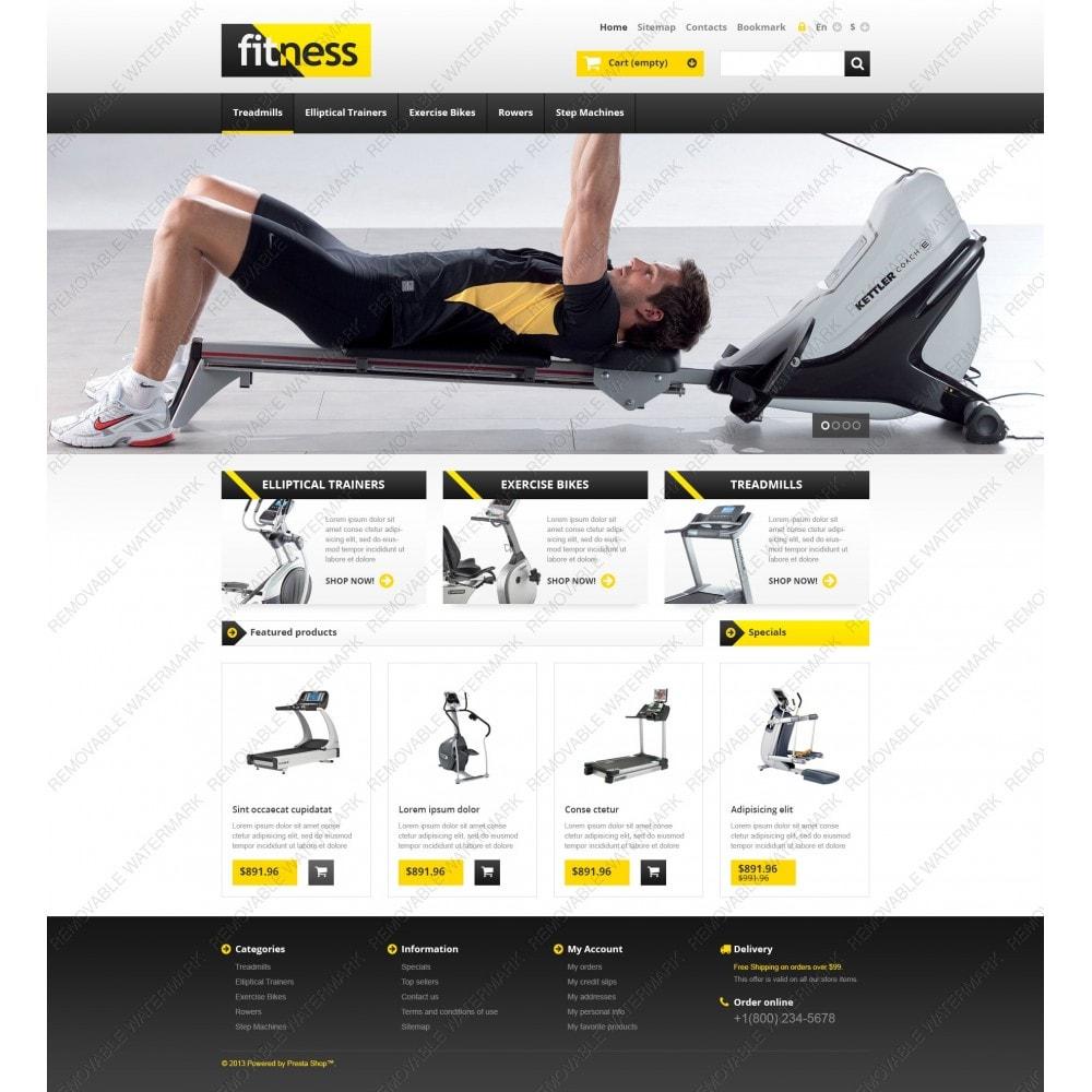 theme - Sport, Attività & Viaggi - Responsive Fitness Store - 3
