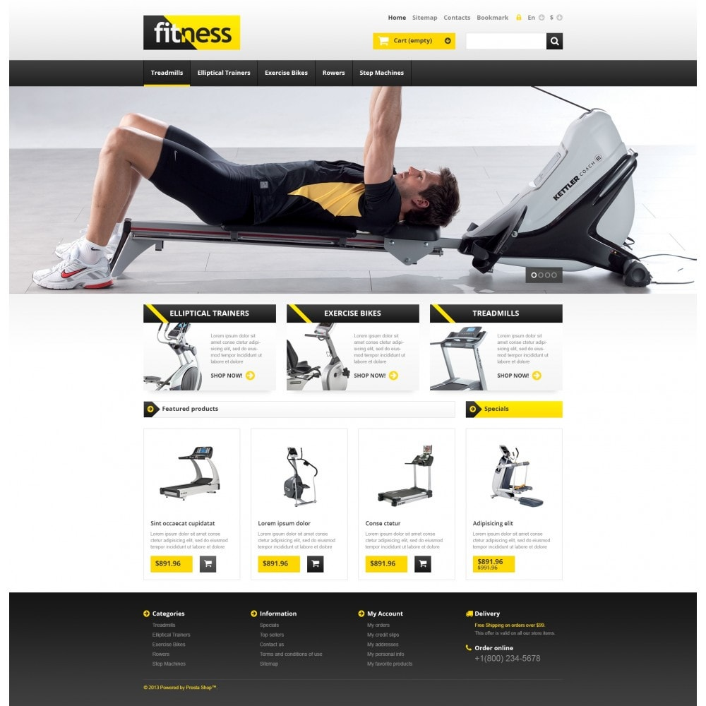 theme - Sport, Attività & Viaggi - Responsive Fitness Store - 4
