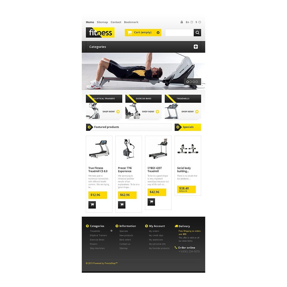 theme - Sport, Attività & Viaggi - Responsive Fitness Store - 7