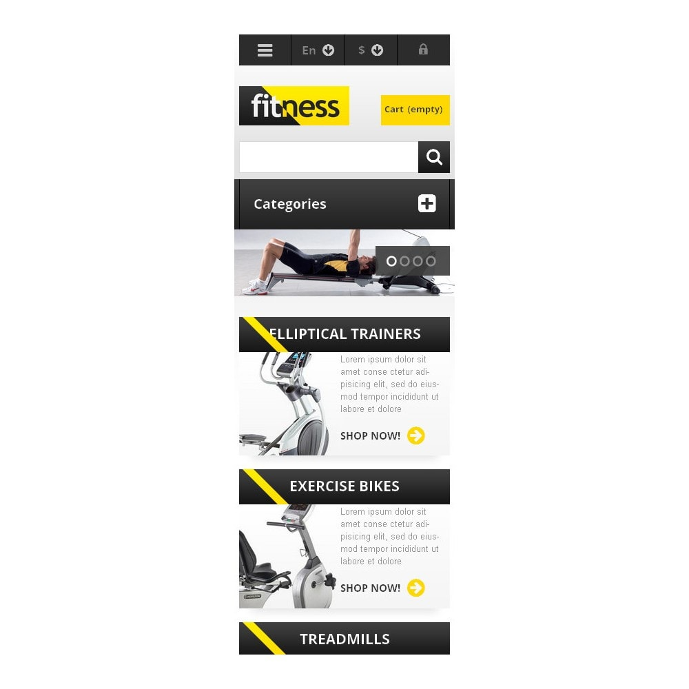 theme - Sport, Attività & Viaggi - Responsive Fitness Store - 9