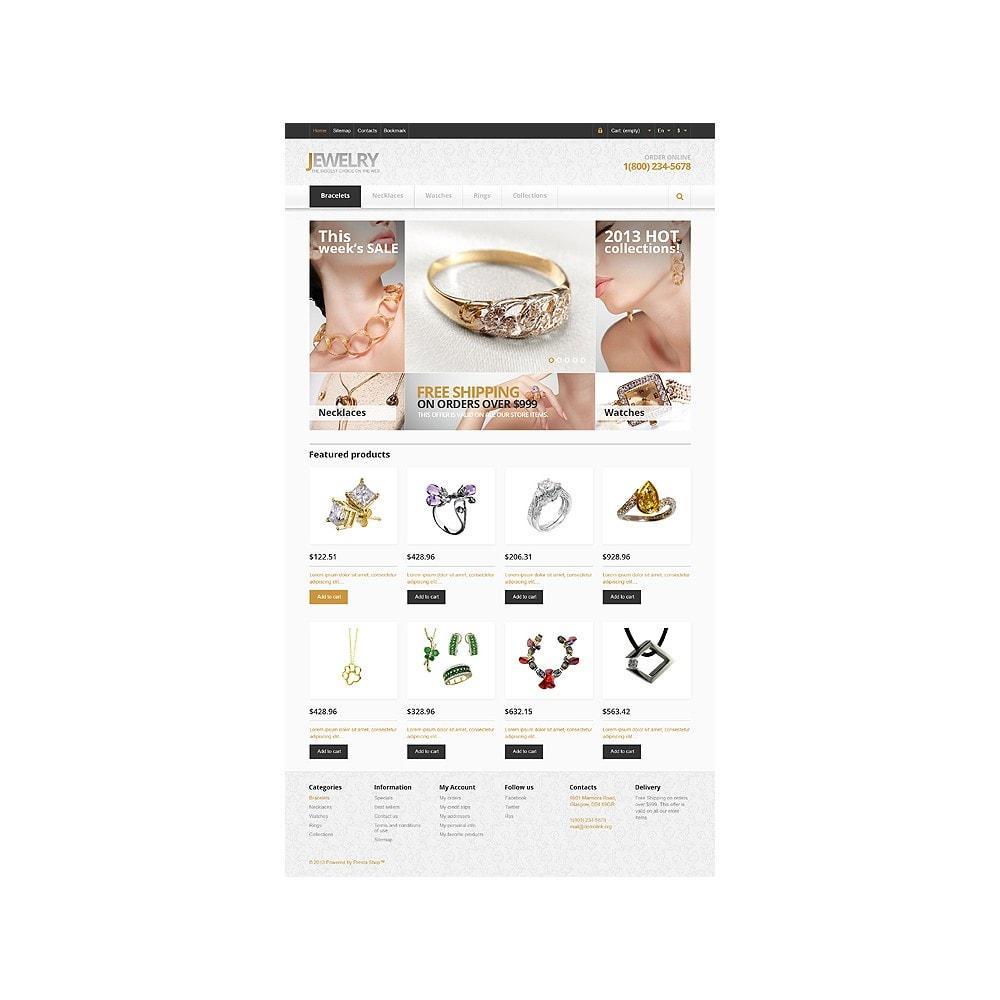 theme - Moda & Calzature - Responsive Jewelry Store - 1