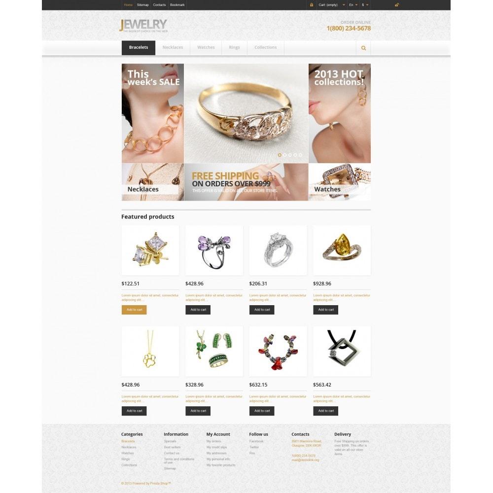 theme - Moda & Calzature - Responsive Jewelry Store - 4