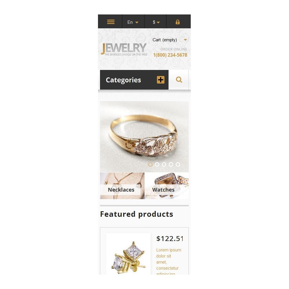 theme - Moda & Calzature - Responsive Jewelry Store - 6
