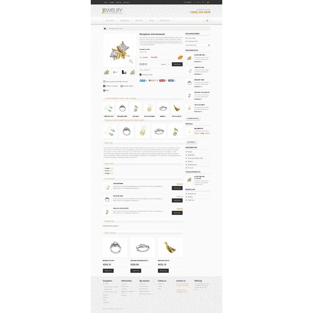 theme - Moda & Calzature - Responsive Jewelry Store - 7