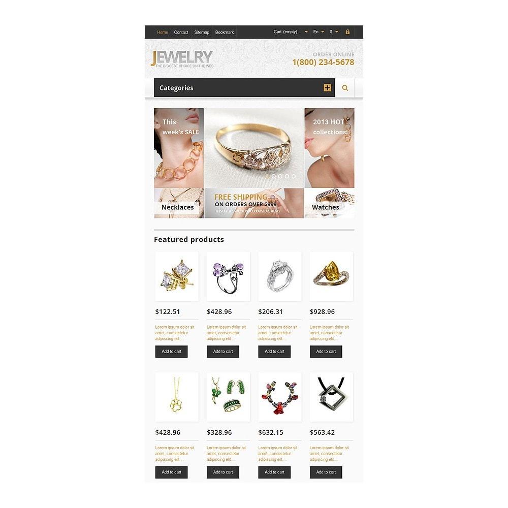 theme - Moda & Calzature - Responsive Jewelry Store - 8