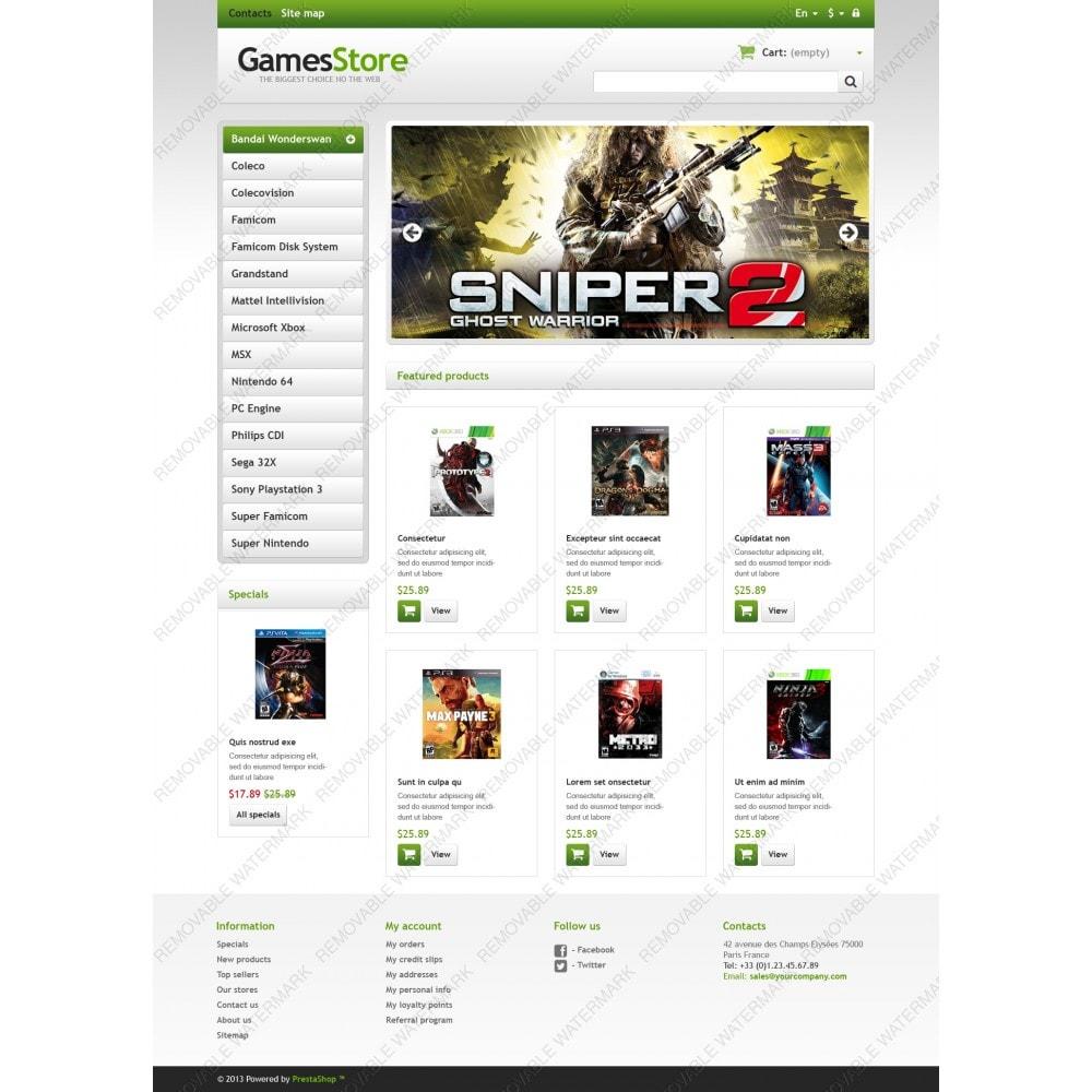 theme - Дети и Игрушки - Responsive Games Store - 3