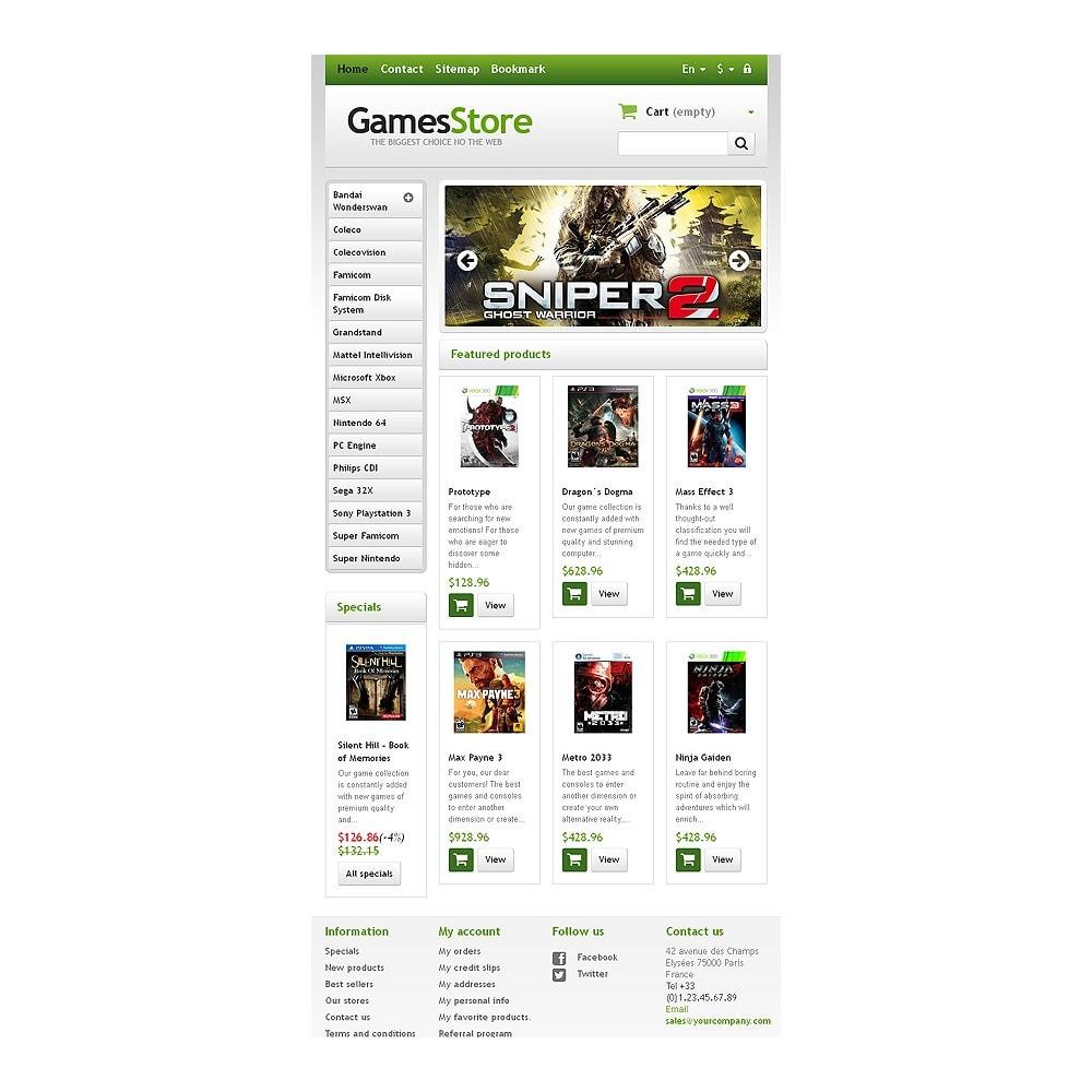 theme - Дети и Игрушки - Responsive Games Store - 7
