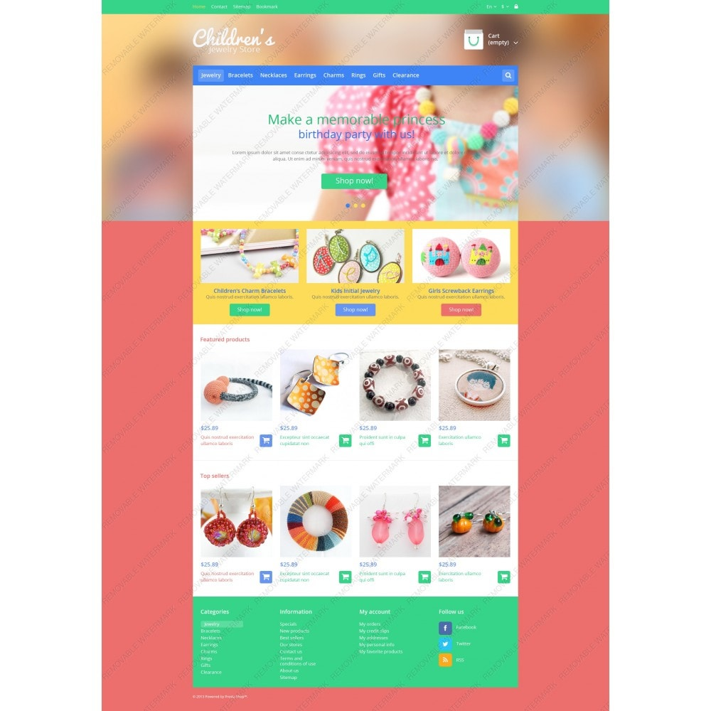 theme - Fashion & Shoes - Children's Jewelry Store - 5
