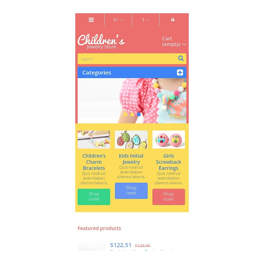 theme - Fashion & Shoes - Children's Jewelry Store - 8