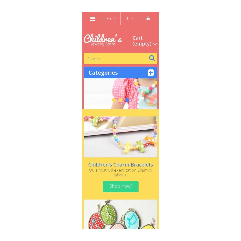 theme - Fashion & Shoes - Children's Jewelry Store - 9