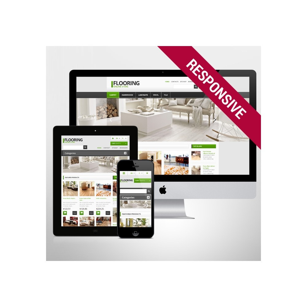 theme - Arte y Cultura - Responsive Flooring Store - 1