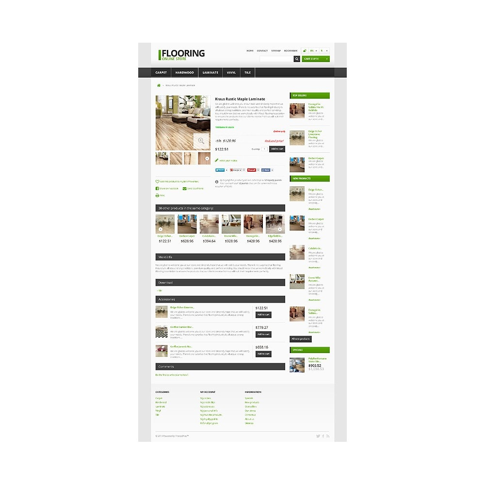 theme - Arte y Cultura - Responsive Flooring Store - 6