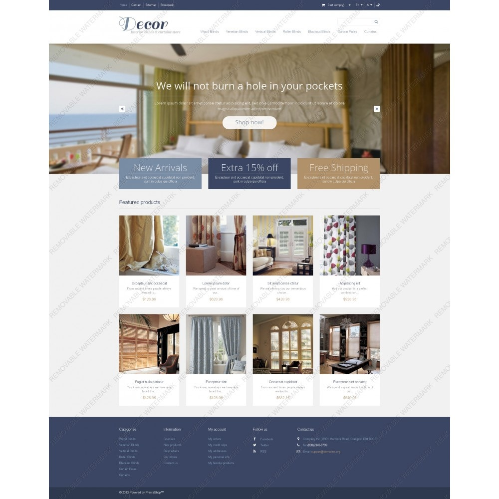theme - Arte & Cultura - Responsive Decor Store - 3