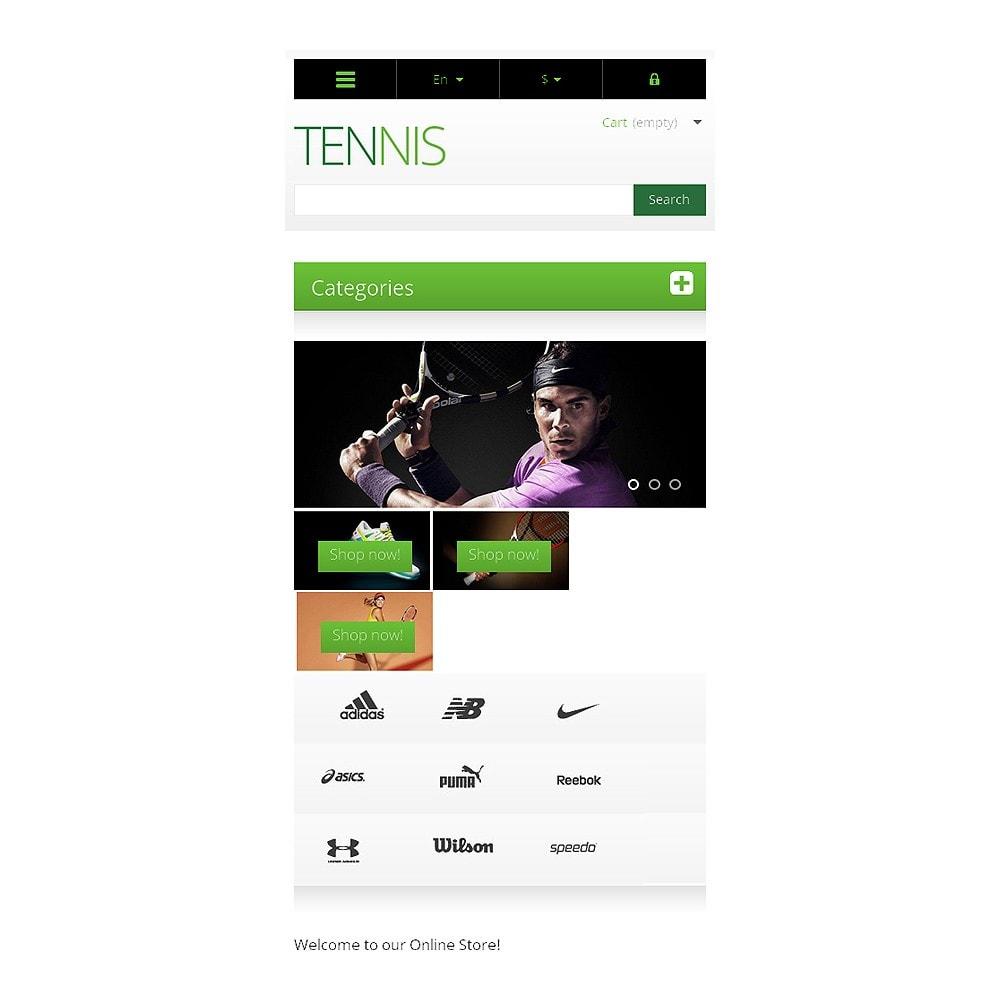 theme - Sport, Rozrywka & Podróże - Responsive Tennis Store - 8