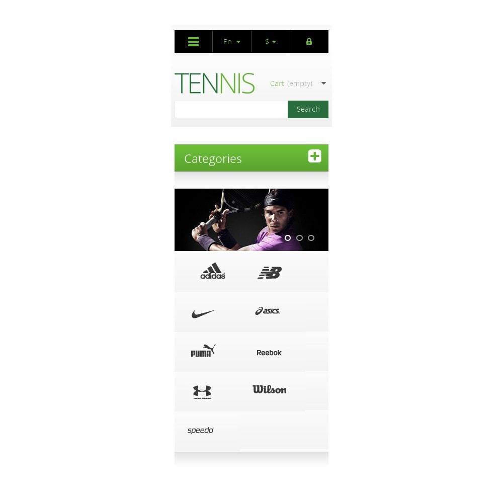 theme - Sport, Rozrywka & Podróże - Responsive Tennis Store - 9