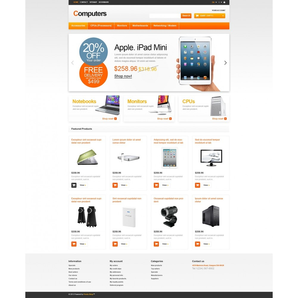 theme - Elektronik & High Tech - Responsive Computers Store - 2