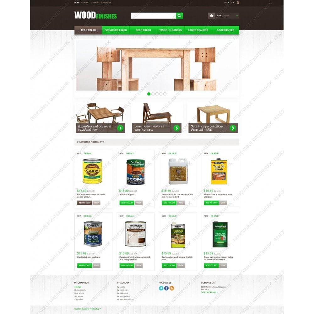 theme - Искусство и Культура - Wood Finishes - 3