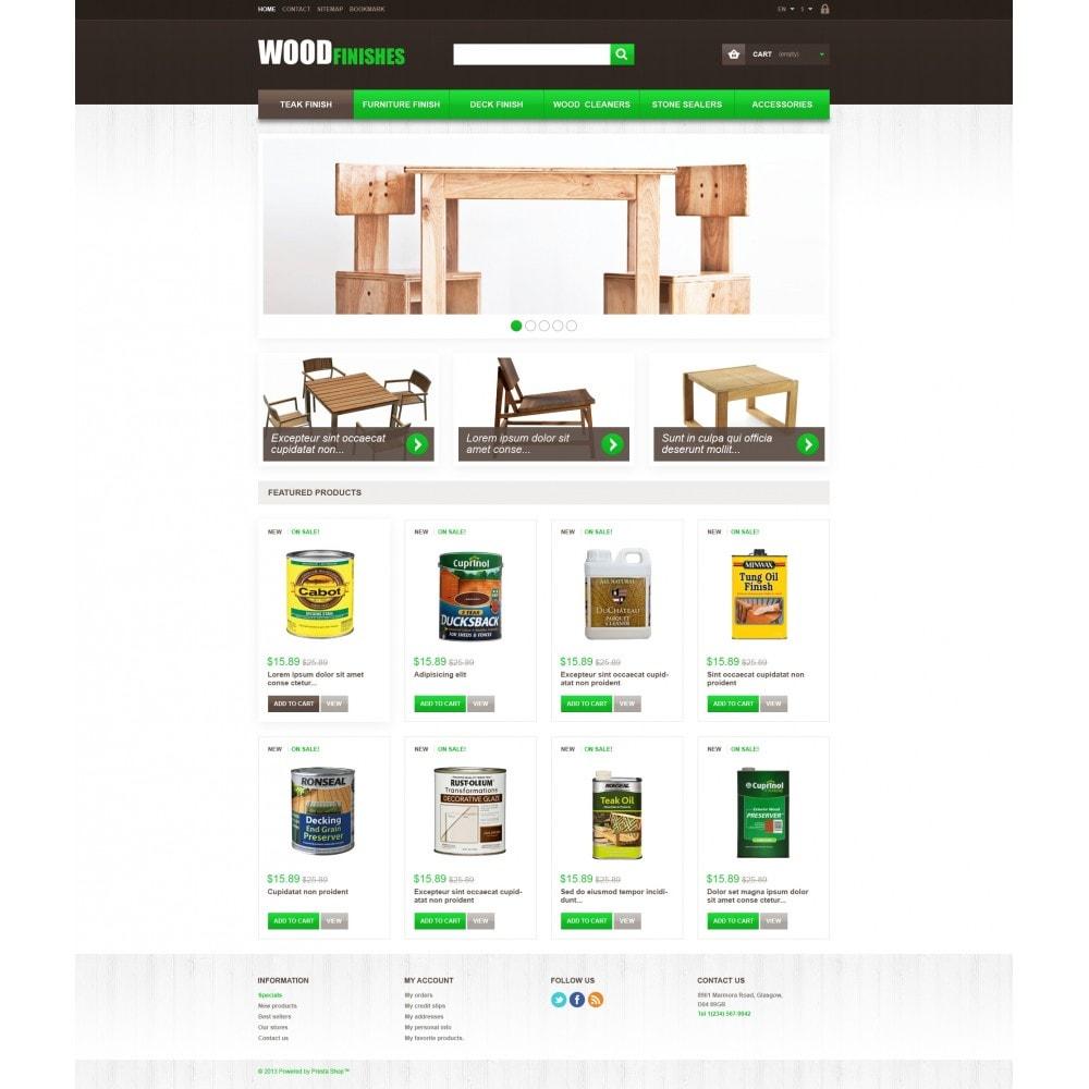theme - Искусство и Культура - Wood Finishes - 4