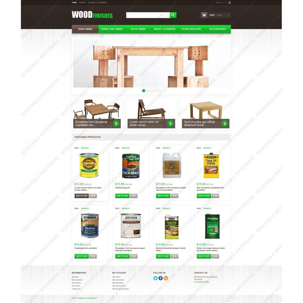 theme - Искусство и Культура - Wood Finishes - 5