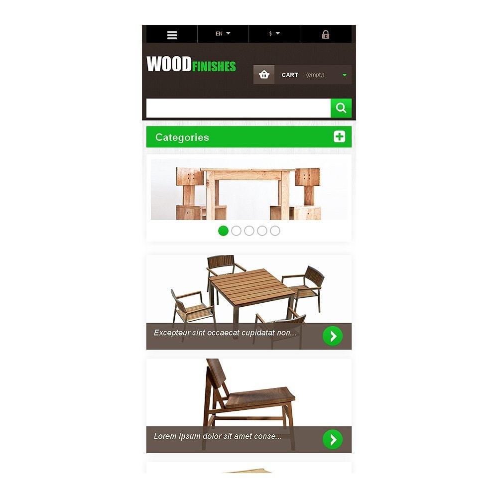 theme - Искусство и Культура - Wood Finishes - 8