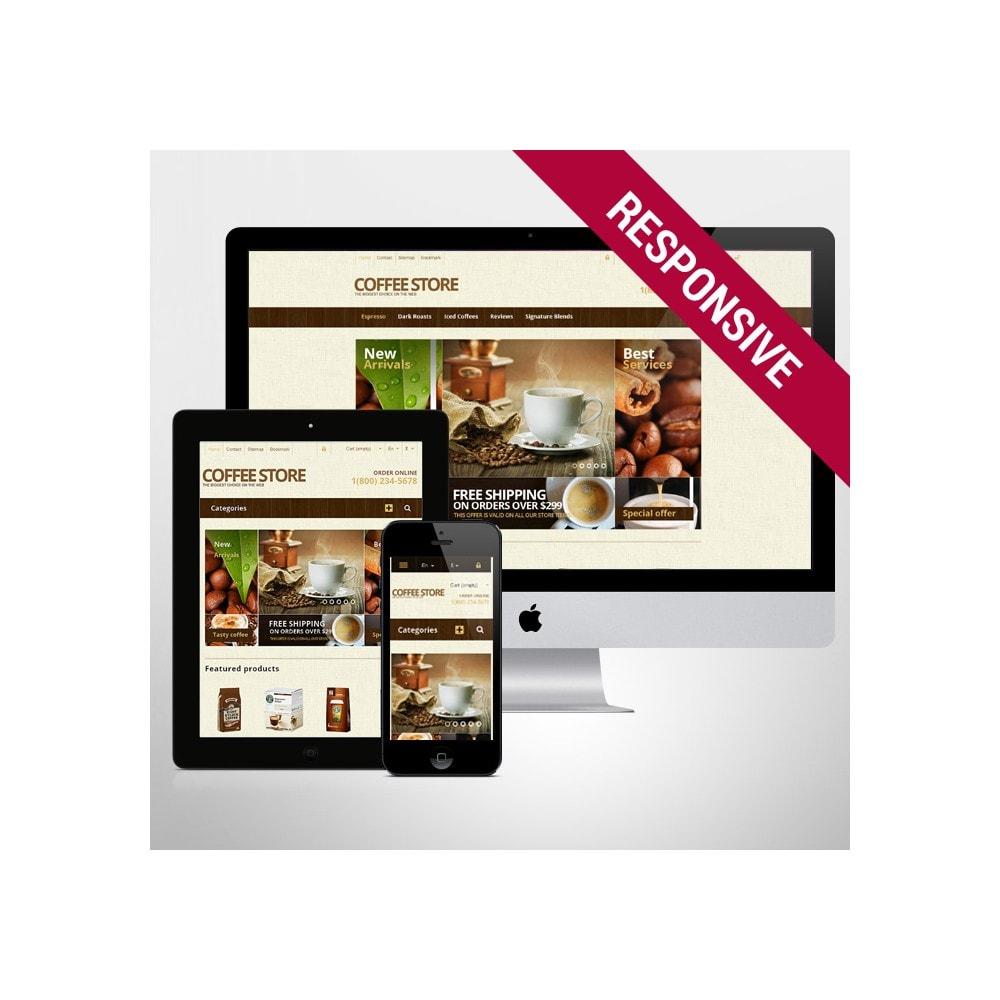 theme - Food & Restaurant - Responsive Coffee Store - 1