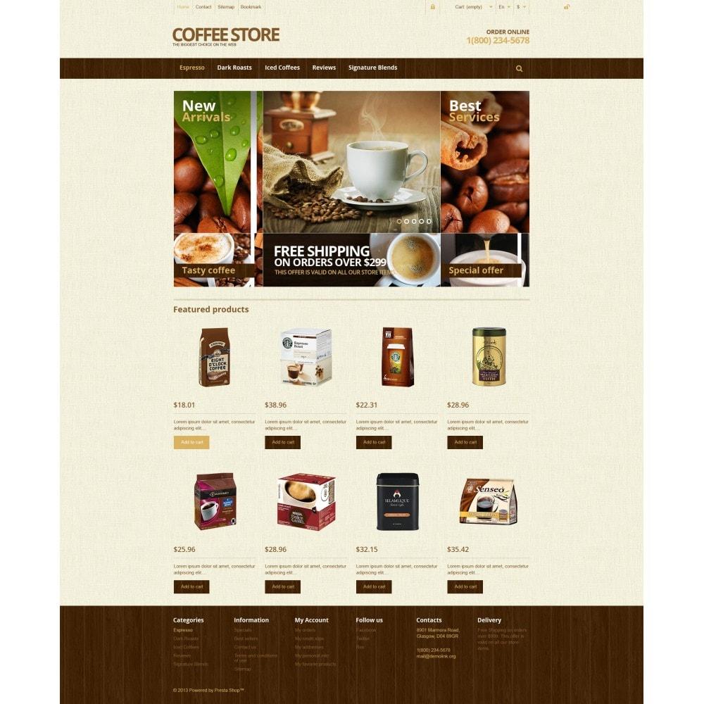 theme - Food & Restaurant - Responsive Coffee Store - 4