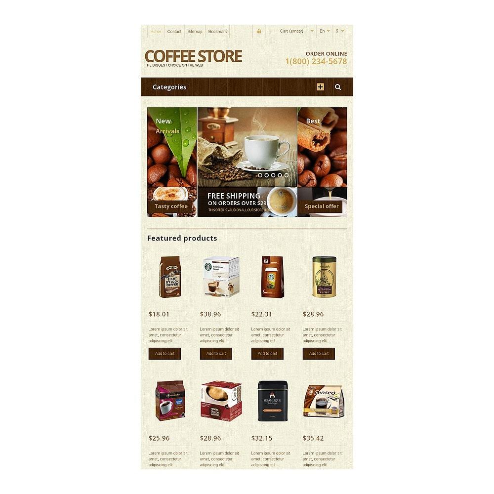 theme - Food & Restaurant - Responsive Coffee Store - 7