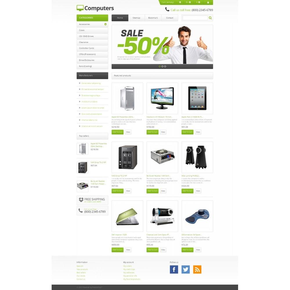 theme - Electrónica e High Tech - Responsive Computers Store - 2