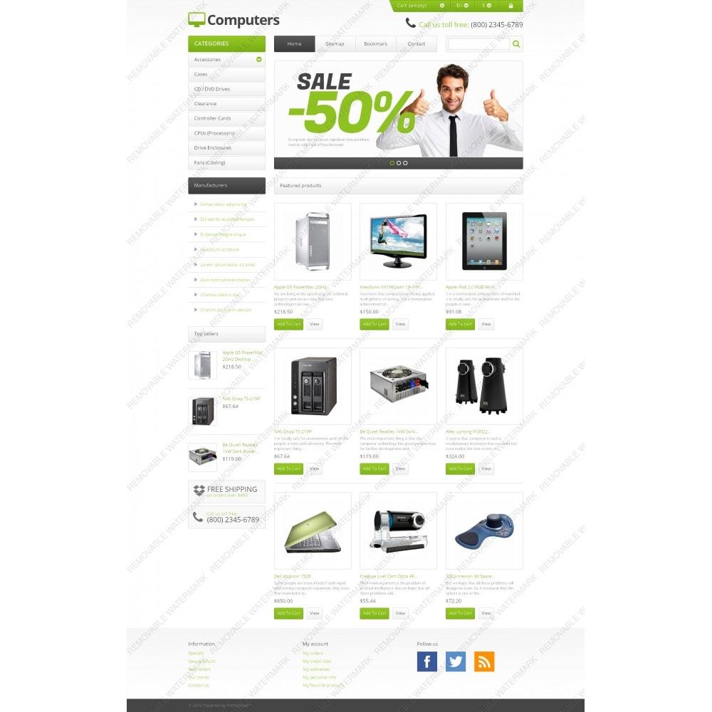 theme - Electrónica e High Tech - Responsive Computers Store - 3