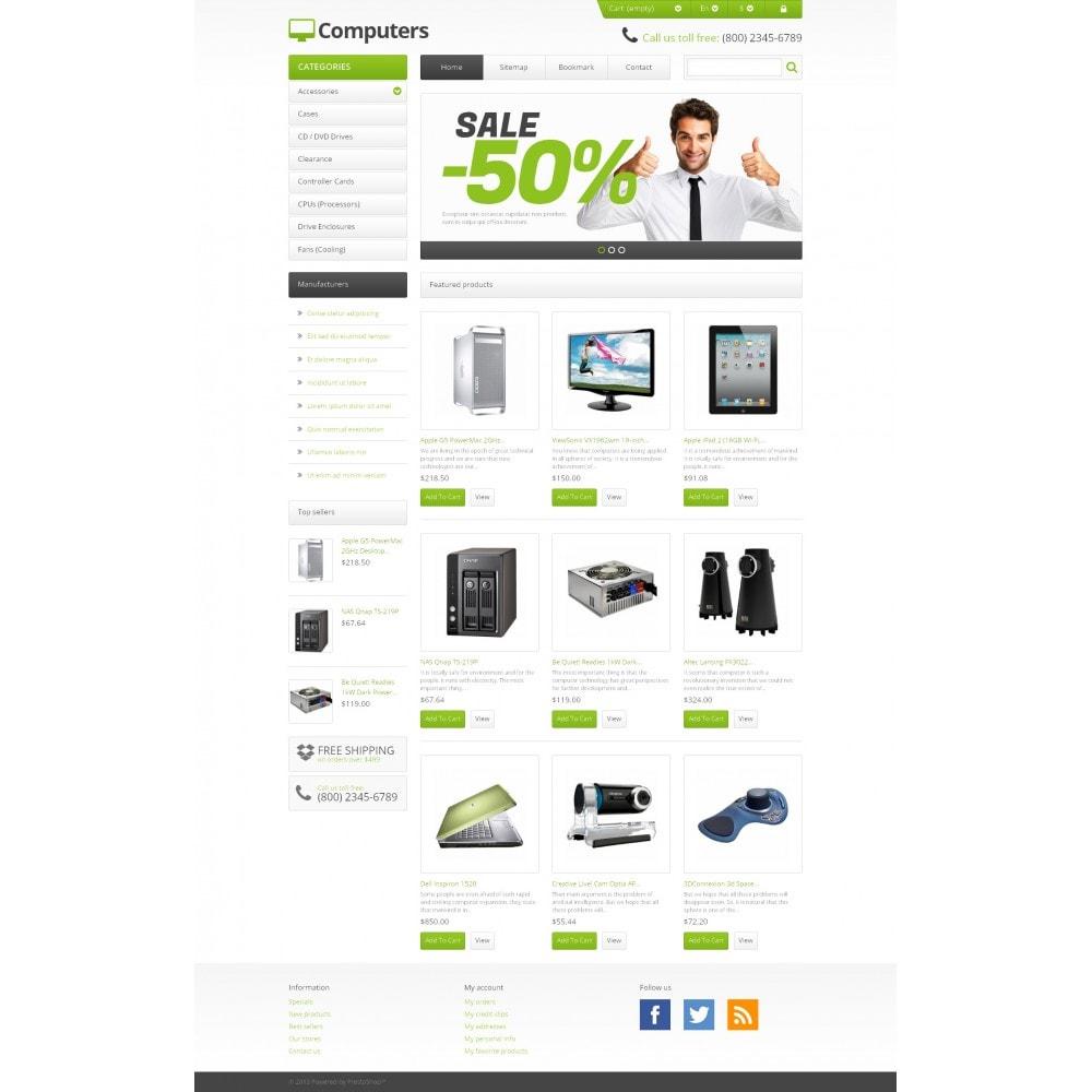 theme - Electrónica e High Tech - Responsive Computers Store - 4