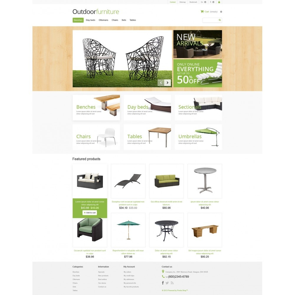 theme - Kunst & Cultuur - Outdoor Furniture Store - 2
